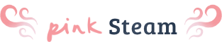 Pink Steam Logo